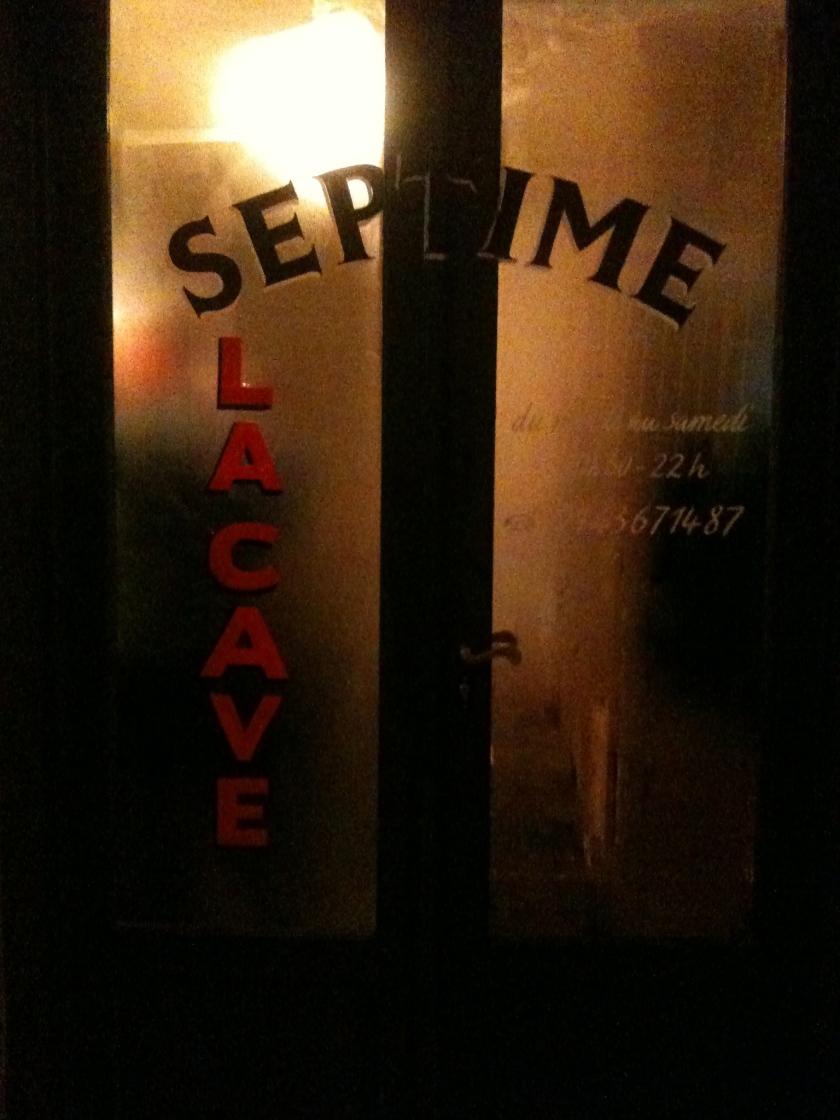 Septime Cave devanture  - ©Pascaline Lechène - pilierdebuffet