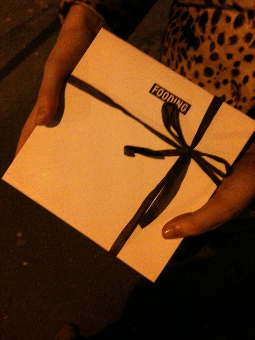 Abri - Le cadeau bonus au chocolat - ©Pascaline Lechène pour pilierdebuffet
