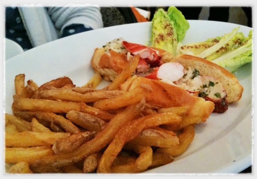 Lobster roll @Losbter Bar ©Pascaline Lechène - pilierdebuffet