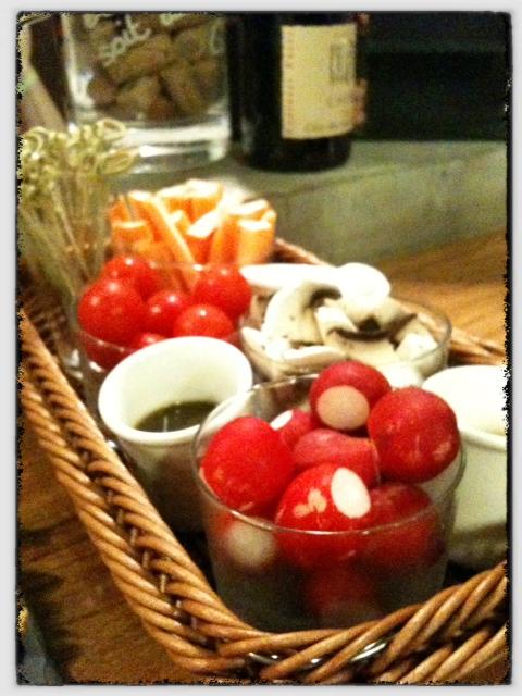 L'Ivress bar à vins Paris - crudités - ©pilierdebuffet
