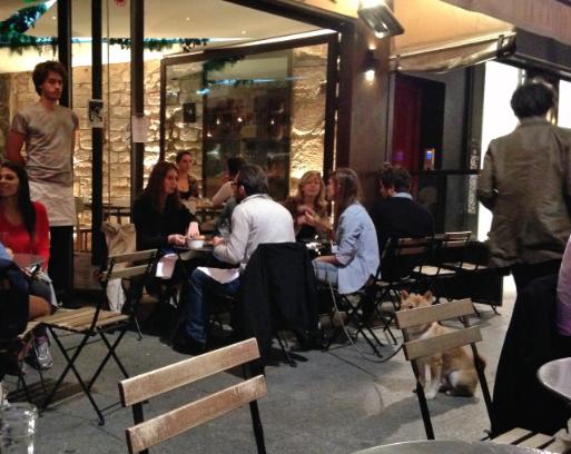 La Faille Paris - terrasse - ©pilierdebuffet